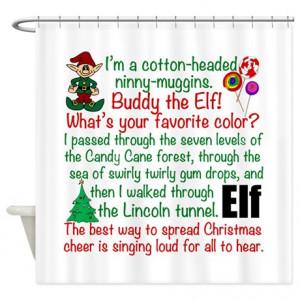 buddy the elf gifts buddy the elf bathroom décor elf movie quotes ...