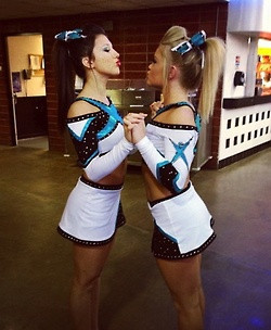 Cheerleading Quotes For Best Friends Cheer best friends.