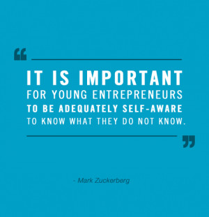It Is Important For Young Entrepreneurs To Be Adequately self aware ...