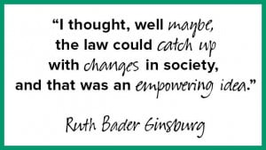 Happy 80th Birthday, Ruth Bader Ginsburg! 9 Wise & Witty Quotes from ...
