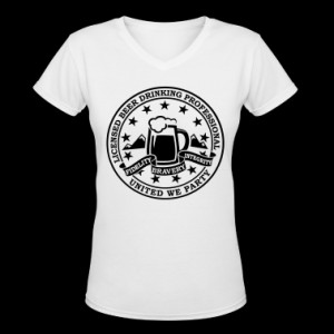 Funny i love beer alcohol drinking license badge t-shirts for drunk ...