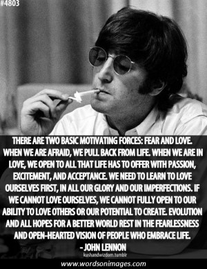 Love quotes john lennon
