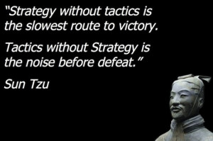 ... – Focusing On Building Your Business On Strategies Vs. Tactics