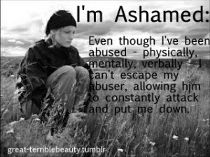 Famous Quotes About Physical Abuse http://great-terriblebeauty.tumblr ...