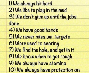 10 reasons to date a football player pic.twitter.com/ICdlZ3R6Iz