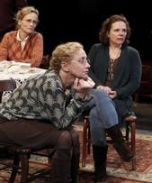 Laila Robins, Maryann Plunkett, and (leaning forward with head on ...