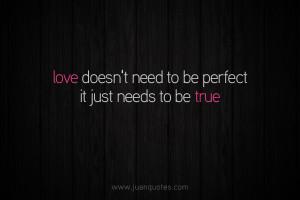 Needs To Be True