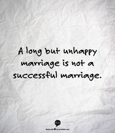 have lots of friends in unhappy marriages for the sake of