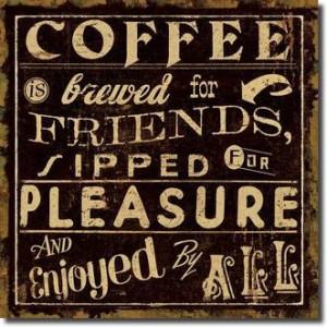 Coffee Quote II Art Print