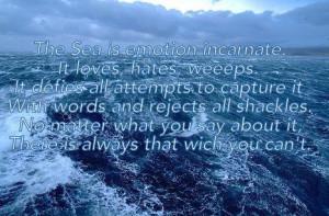 Eragon quote. Brom describes the sea