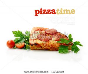 Cartoon Cute Pizza Delivery