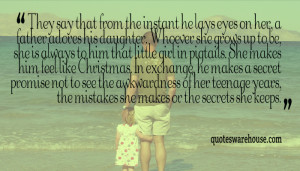 ... That From The Instant He Lays Eyes On Her A Father Adores His Daughter