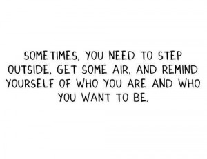 go find yourself, but you may have already