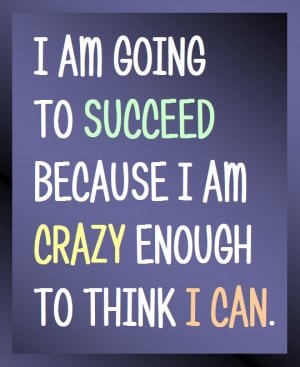 Im Going Crazy Quotes I am going to succeed