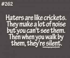 Pictures celebrity haters life quotes sayings inspirational pictures ...