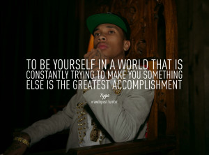 Tyga Quotes Tumblr Picture