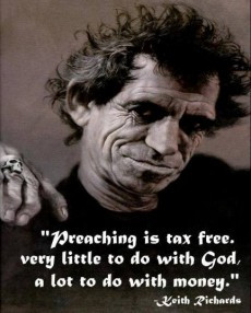 Preaching is tax free. Very little to do with God, a lot to do with ...