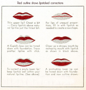 Burlesque Red Lip Makeup Tips