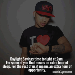 Daylight Savings Time Quotes