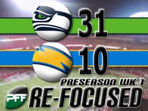 Seahawks vs Chargers Preseason Pics