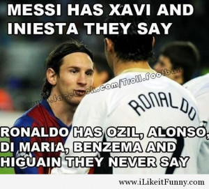 World Cup 2014 Messi and Ronaldo