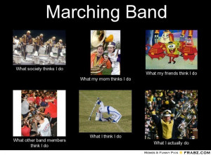 Funny Marching Band Quotes