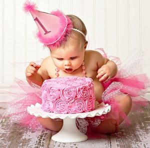 Lambuze seu filho no Smash the Cake
