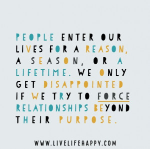 People in Our Lives Quotes