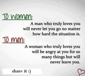See more Real definition of women and men love