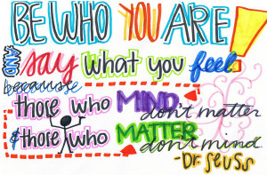 Dr. Seuss - Inspirational Quotes