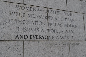 Washington Dc Wwii Memorial Quotes