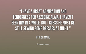 Sayings And Quotes About Admiration