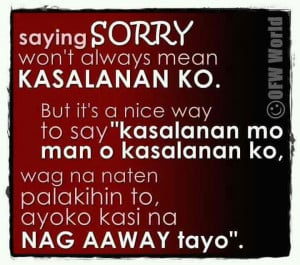 sorry quotes sorry quotes incoming search terms sorry quotes tagalog ...