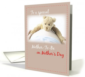 Mothers Day Card Expectant Mom
