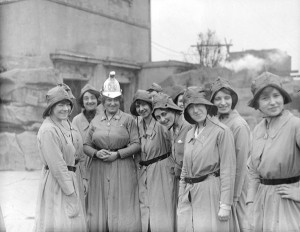 The Women's Reserve of the British Army National Motor Volunteers ...