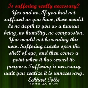 suffering quotes, Eckhart Tolle Quotes, ego quotes
