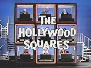 Hollywood Squares with Paul Lynde in the middle square..Paul Lynde was ...