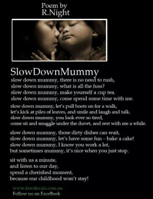 Poem for Mothers: