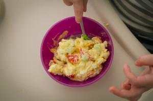 eating clean / eggsalad // livelovesimple.com