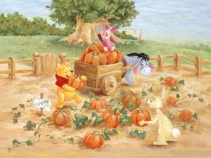 Winnie The Pooh Thanksgiving Wallpaper: 1024 X 768