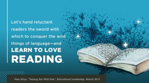 "Pam Allyn, ""Taming the Wild Text,"" Educational Leadership, March ..."