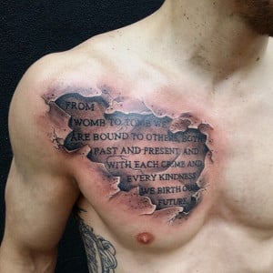 Cloud Atlas quote on Cory Mahon. || Done by Pete Carreno in Franklin ...
