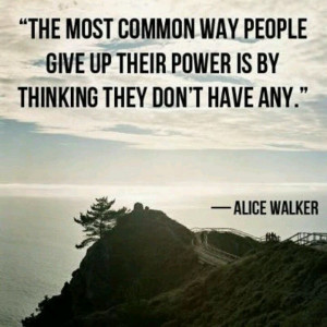 personal power motivational quote
