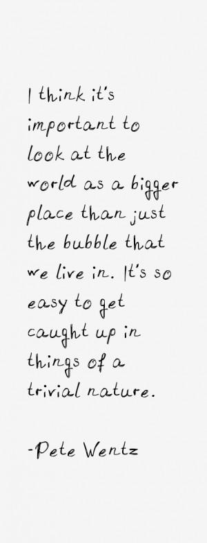 Pete Wentz Quotes & Sayings