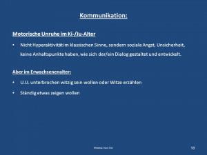 Kommunikation: Motorische Unruhe im Ki-/Ju-Alter Nicht Hyperaktivität ...