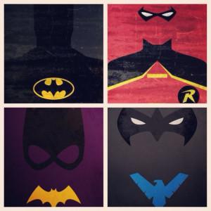 Batman Love Quotes Batman, robin, batgirl