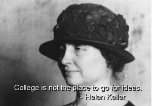 Helen keller, quotes, sayings, famous, education, knowledge, ideas