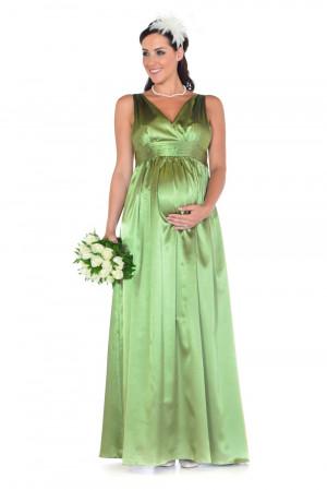 Full Length Maternity Bridesmaid Dress
