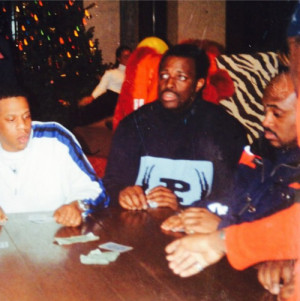 Jay-Z, Charlie Mack, and Steve Stoute playing guts in Aspen back in ...