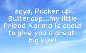 Karma Facebook Status